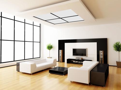 Modern room- Laminate floorDepositphotos_1036381_s-2015